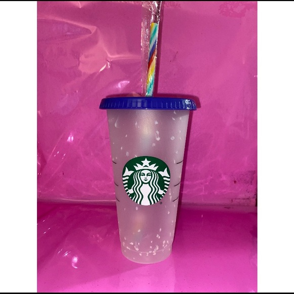 🌈 Starbucks confetti cold cup 🌈